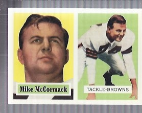 1994 Topps Archives 1957 #3 Mike McCormack
