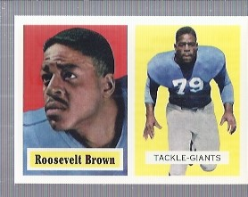 1994 Topps Archives 1957 #11 Roosevelt Brown
