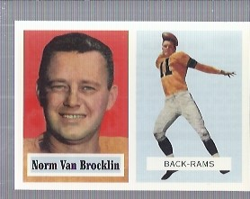 1994 Topps Archives 1957 #22 Norm Van Brocklin