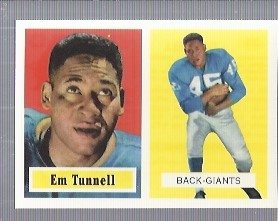 1994 Topps Archives 1957 #35 Emlen Tunnell