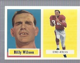 1994 Topps Archives 1957 #42 Billy Wilson