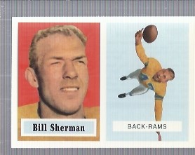 1994 Topps Archives 1957 #58 Willard Sherman