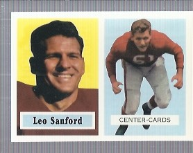 1994 Topps Archives 1957 #74 Leo Sanford