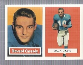 1994 Topps Archives 1957 #80 Howard Cassady
