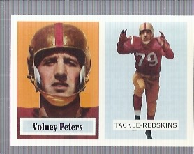 1994 Topps Archives 1957 #84 Volney Peters