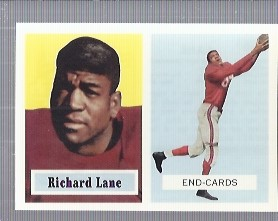 1994 Topps Archives 1957 #85 Dick Lane front image