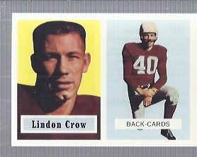 1994 Topps Archives 1957 #91 Lindon Crow
