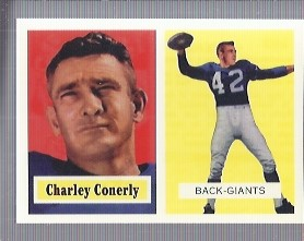 1994 Topps Archives 1957 #109 Charley Conerly