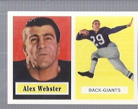 1994 Topps Archives 1957 #121 Alex Webster