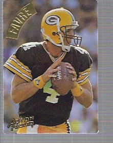 1994 Action Packed #34 Brett Favre