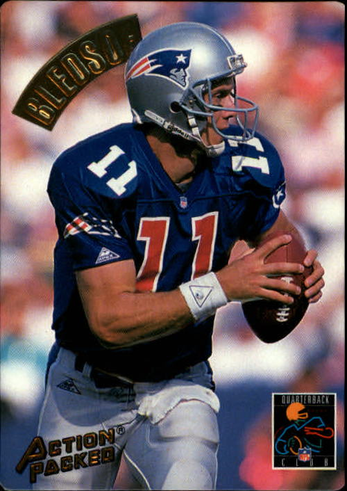 1994 Action Packed #176 Drew Bledsoe QC