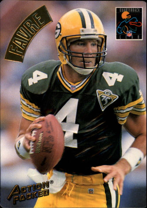 1994 Action Packed #183 Brett Favre QC