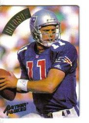 1994 Action Packed Braille #70 Drew Bledsoe