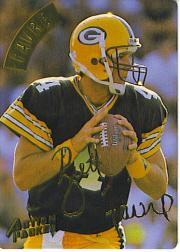 1994 Action Packed Gold Signatures #34 Brett Favre