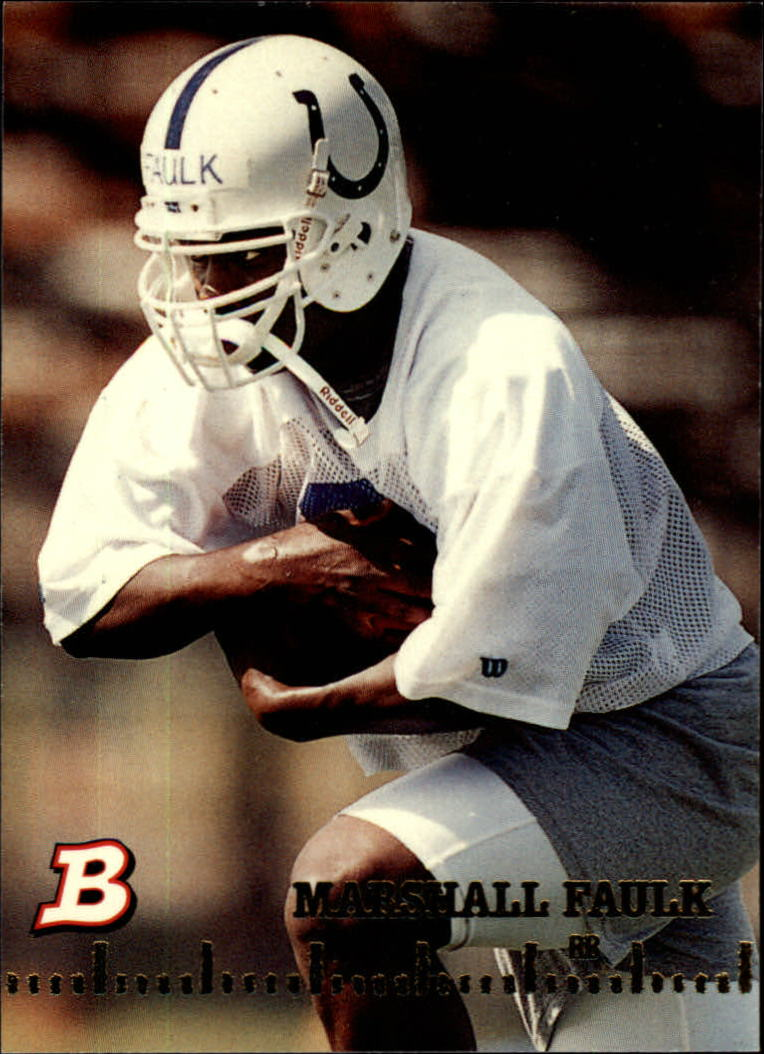 1994 Bowman #2 Marshall Faulk RC