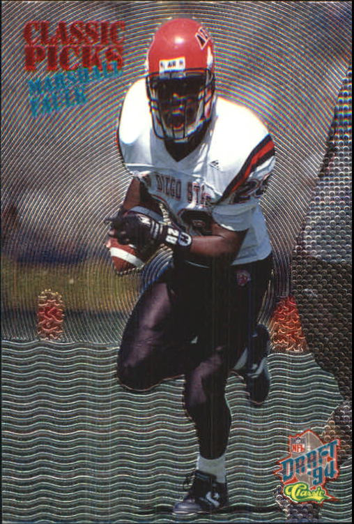 1994 Classic Picks #5 Marshall Faulk