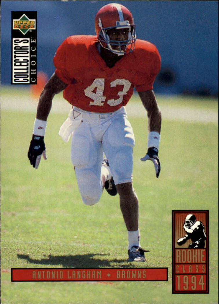 1994 Collector's Choice #1 Antonio Langham RC
