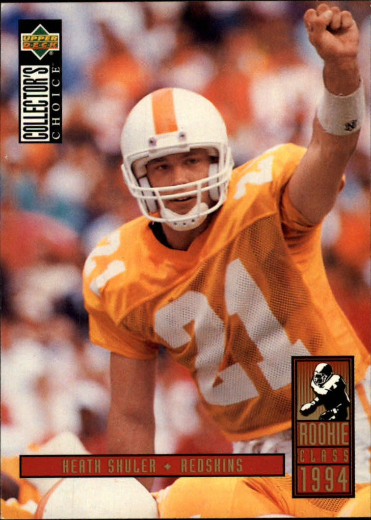 1994 Collector's Choice #12 Heath Shuler RC