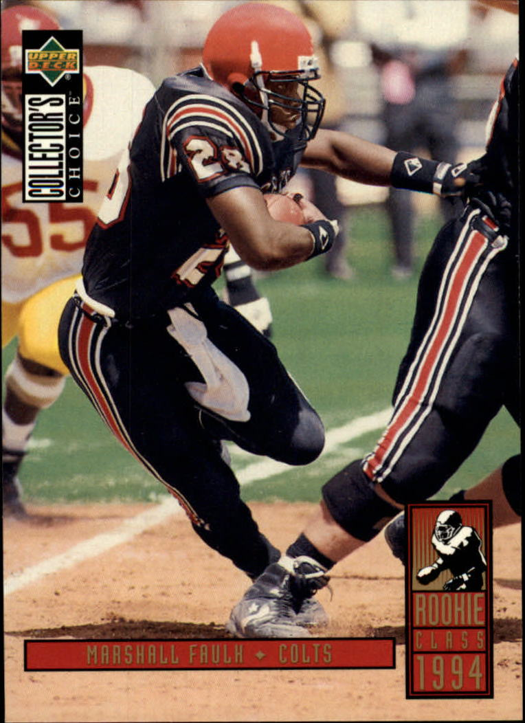 1994 Collector's Choice #14 Marshall Faulk RC