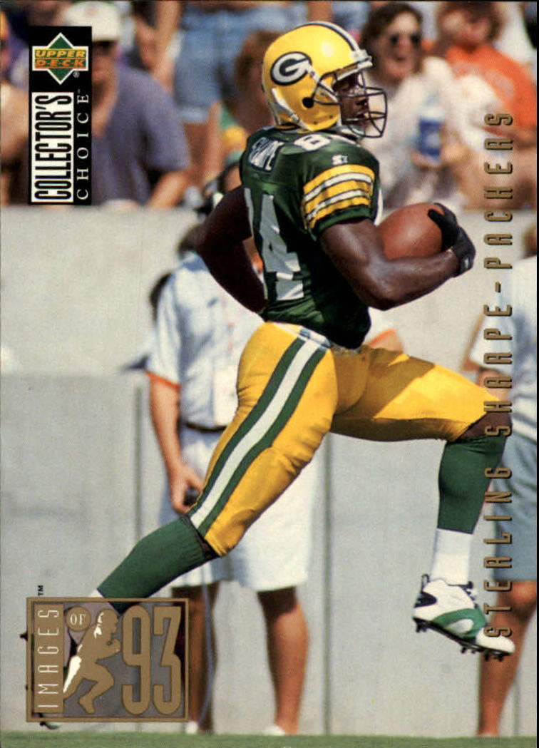 1994 Collector's Choice #32 Sterling Sharpe I93