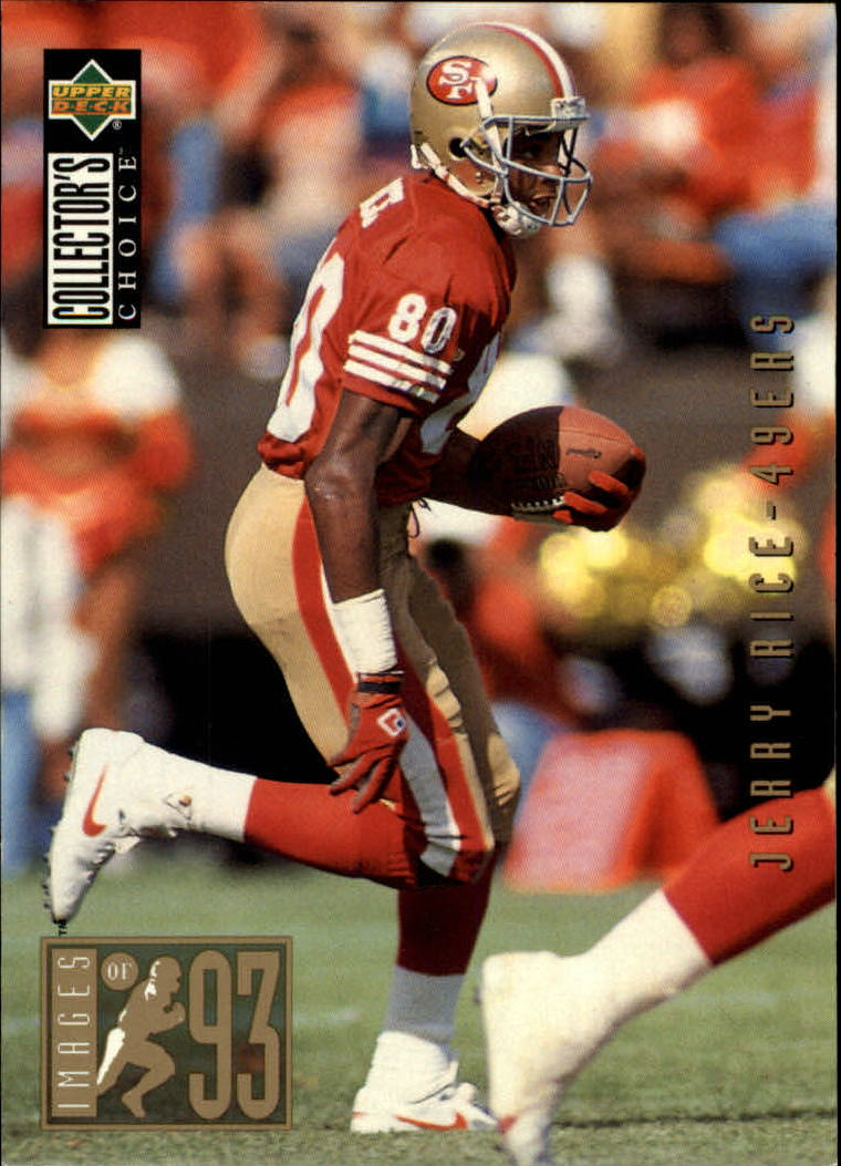 1994 Collector's Choice #45 Jerry Rice I93