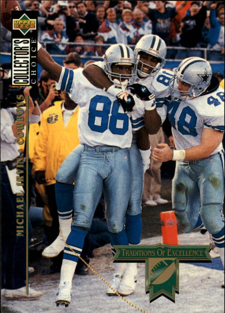 1994 Collector's Choice #56 Michael Irvin TE