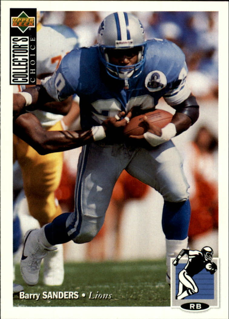 1994 Collector's Choice #86 Barry Sanders
