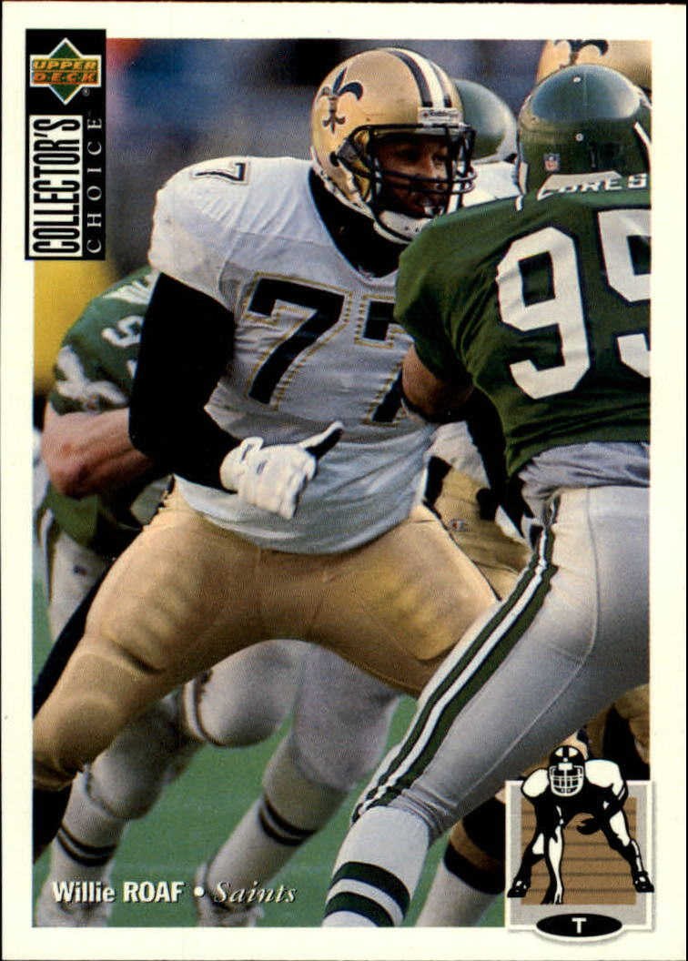 1994 Collector's Choice #257 Willie Roaf