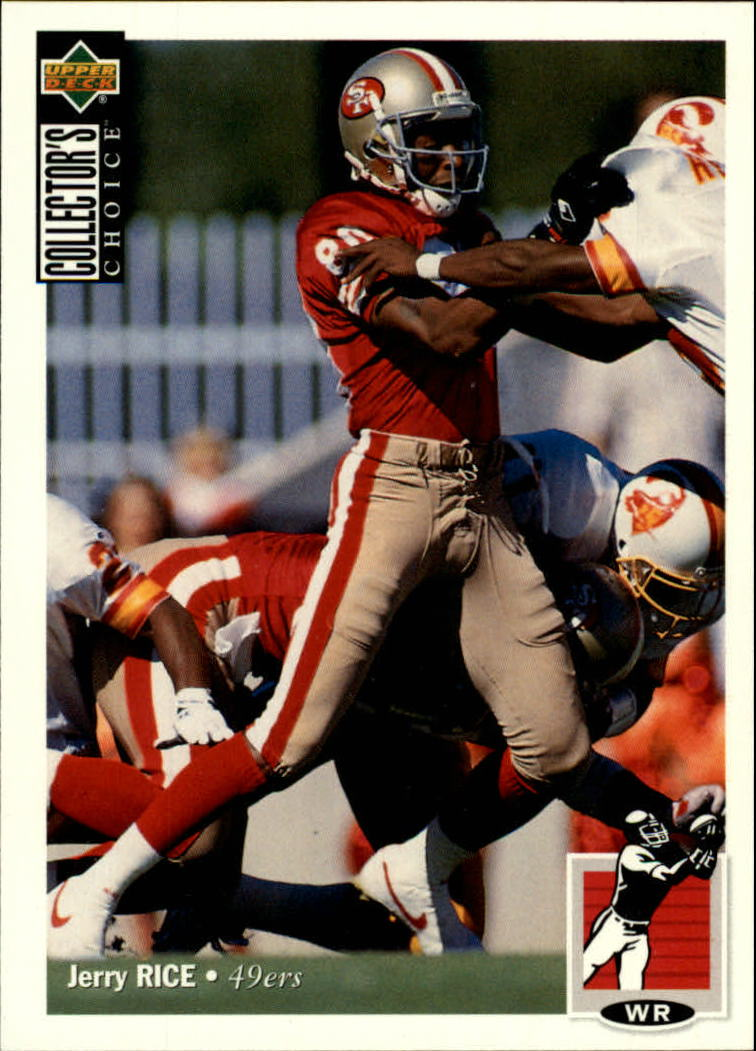 1994 Collector's Choice #348 Jerry Rice