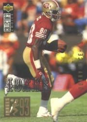 1994 Collector's Choice Silver #45 Jerry Rice I93