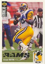 1994 Collector's Choice Silver #116 Jerome Bettis