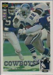 1994 Collector's Choice Silver #215 Emmitt Smith