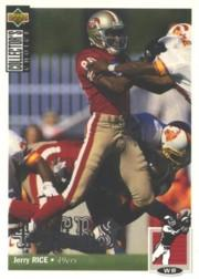 1994 Collector's Choice Silver #348 Jerry Rice