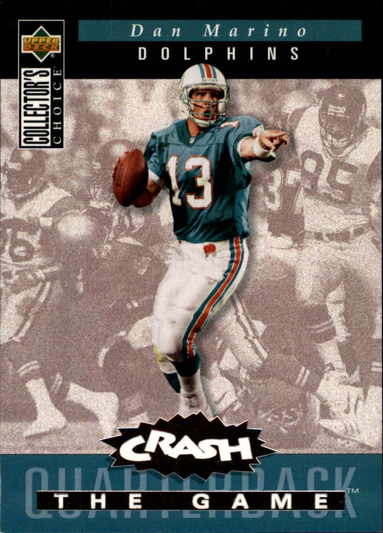 1994 Collector's Choice Crash the Game Bronze Redemption #C5 Dan Marino