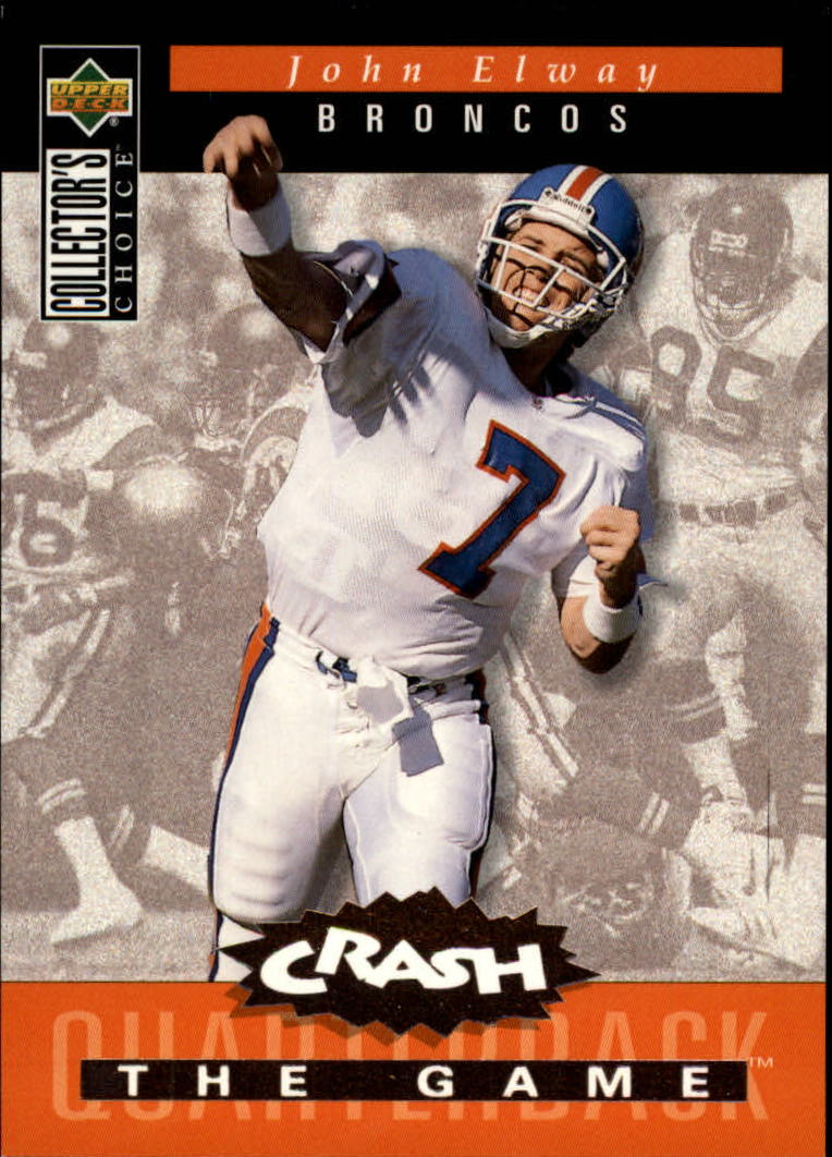 1994 Collector's Choice Crash the Game Bronze Redemption #C6 John Elway