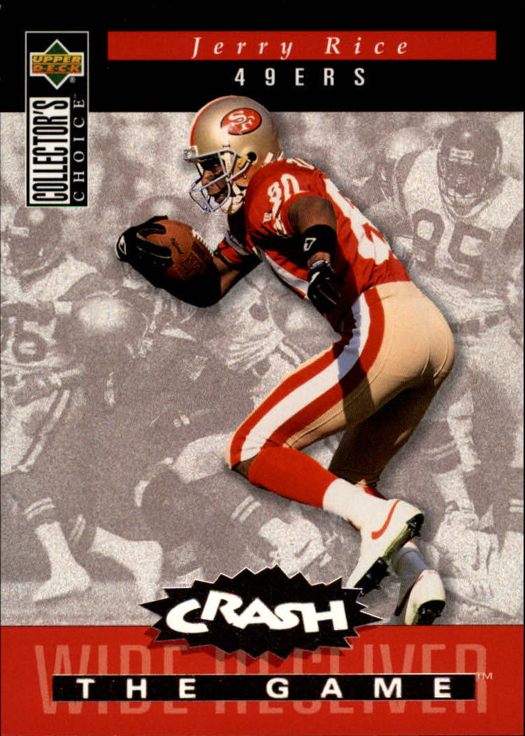 1994 Collector's Choice Crash the Game Bronze Redemption #C21 Jerry Rice
