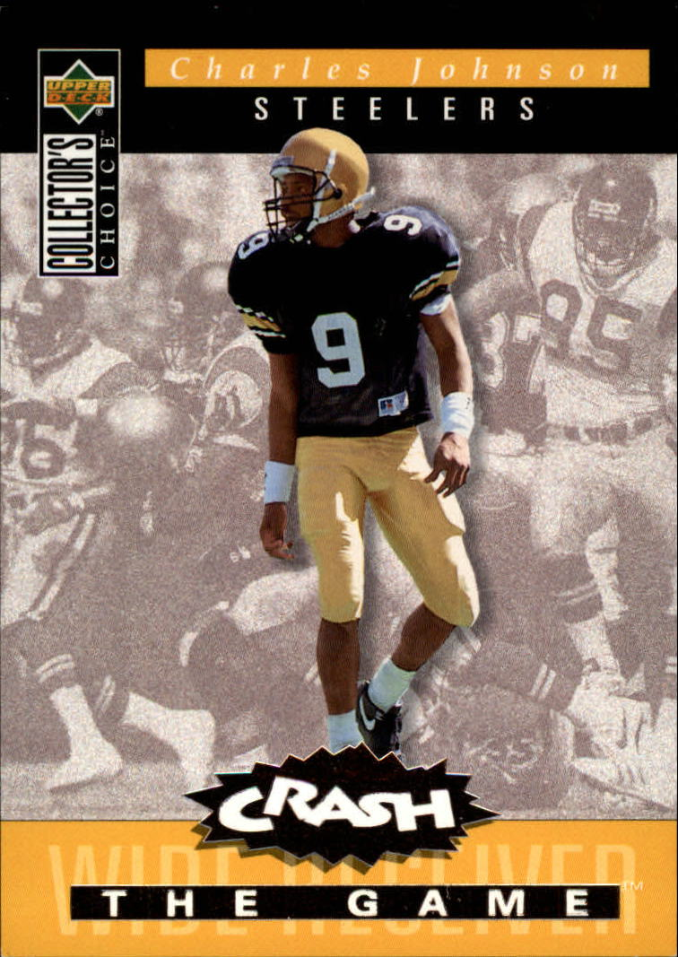 1994 Collector's Choice Crash the Game Bronze Redemption #C29 Charles Johnson