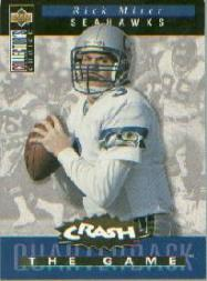 1994 Collector's Choice Crash the Game Gold Redemption #C3 Rick Mirer