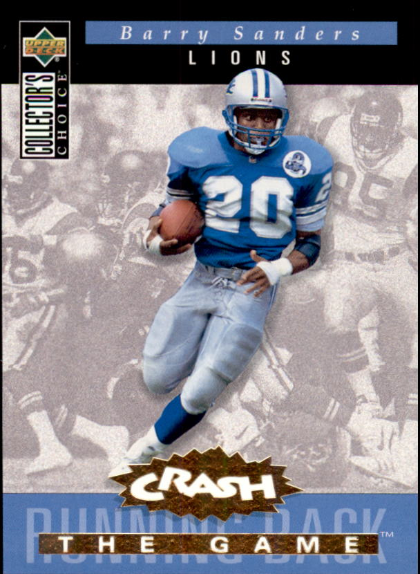 1994 Collector's Choice Crash the Game Gold Redemption #C16 Barry Sanders