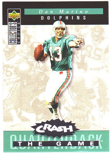 1994 Collector's Choice Crash the Game Silver Redemption #C5 Dan Marino
