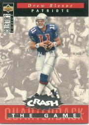 1994 Collector's Choice Crash the Game Silver Redemption #C9 Drew Bledsoe