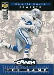 1994 Collector's Choice Crash the Game Silver Redemption #C15 Emmitt Smith