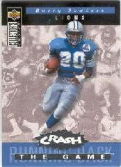 1994 Collector's Choice Crash the Game Silver Redemption #C16 Barry Sanders