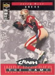 1994 Collector's Choice Crash the Game Silver Redemption #C21 Jerry Rice