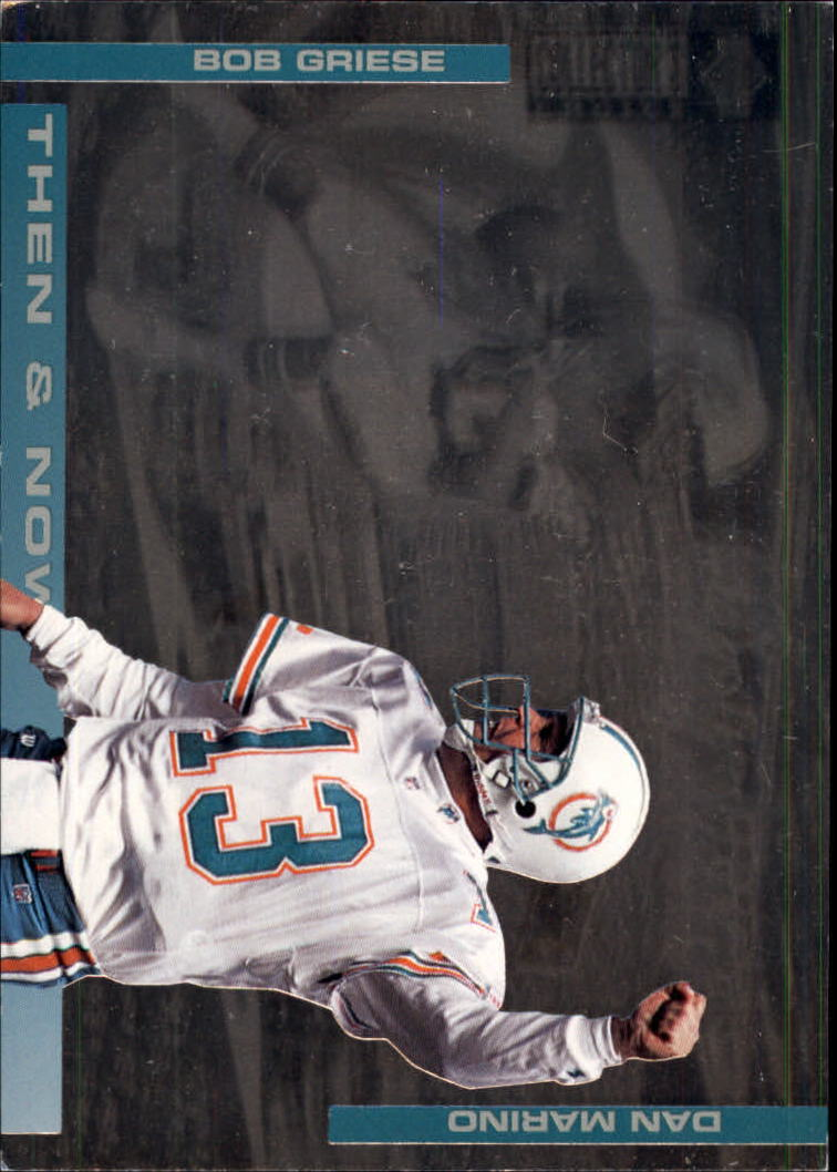 1994 Collector's Choice Then and Now #5 Dan Marino/Bob Griese
