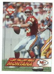 1994 Collector's Edge #94 Joe Montana