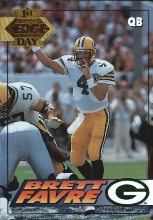 1994 Collector's Edge Gold #71 Brett Favre