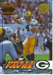 1994 Collector's Edge Pop Warner 22K Gold #71 Brett Favre