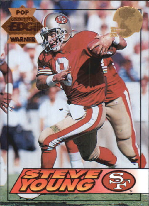 1994 Collector's Edge Pop Warner 22K Gold #180 Steve Young