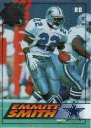 1994 Collector's Edge Silver #44 Emmitt Smith